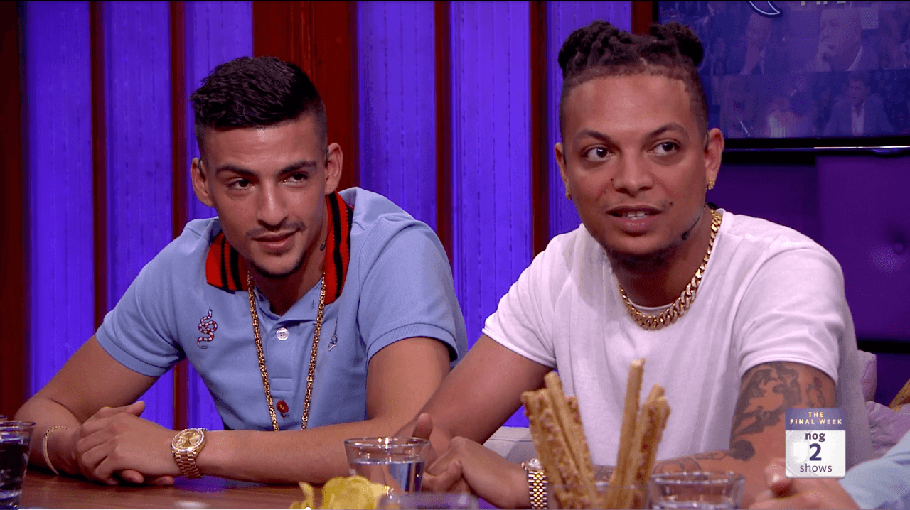 Boef & Ronnie Flex bij RTL Late Night