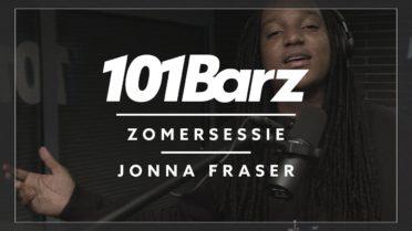Jonna Fraser ging bij Rotjoch langs voor een nieuwe 101Barz sessie