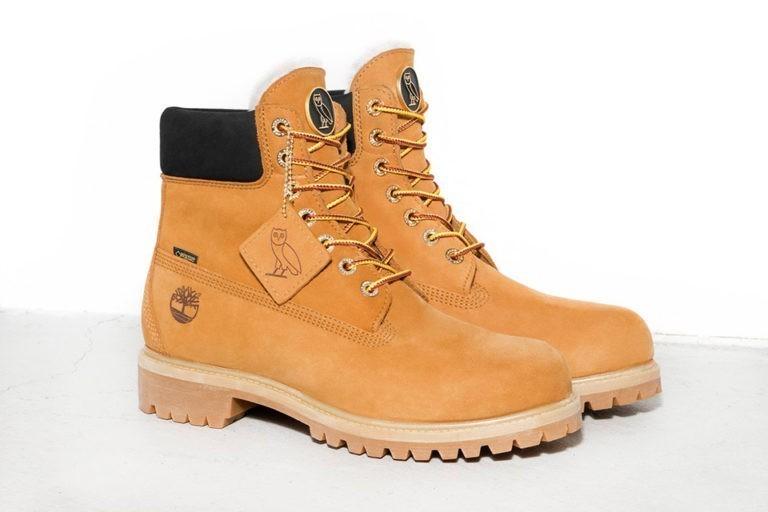 De OVO x Timberland boots zijn hier