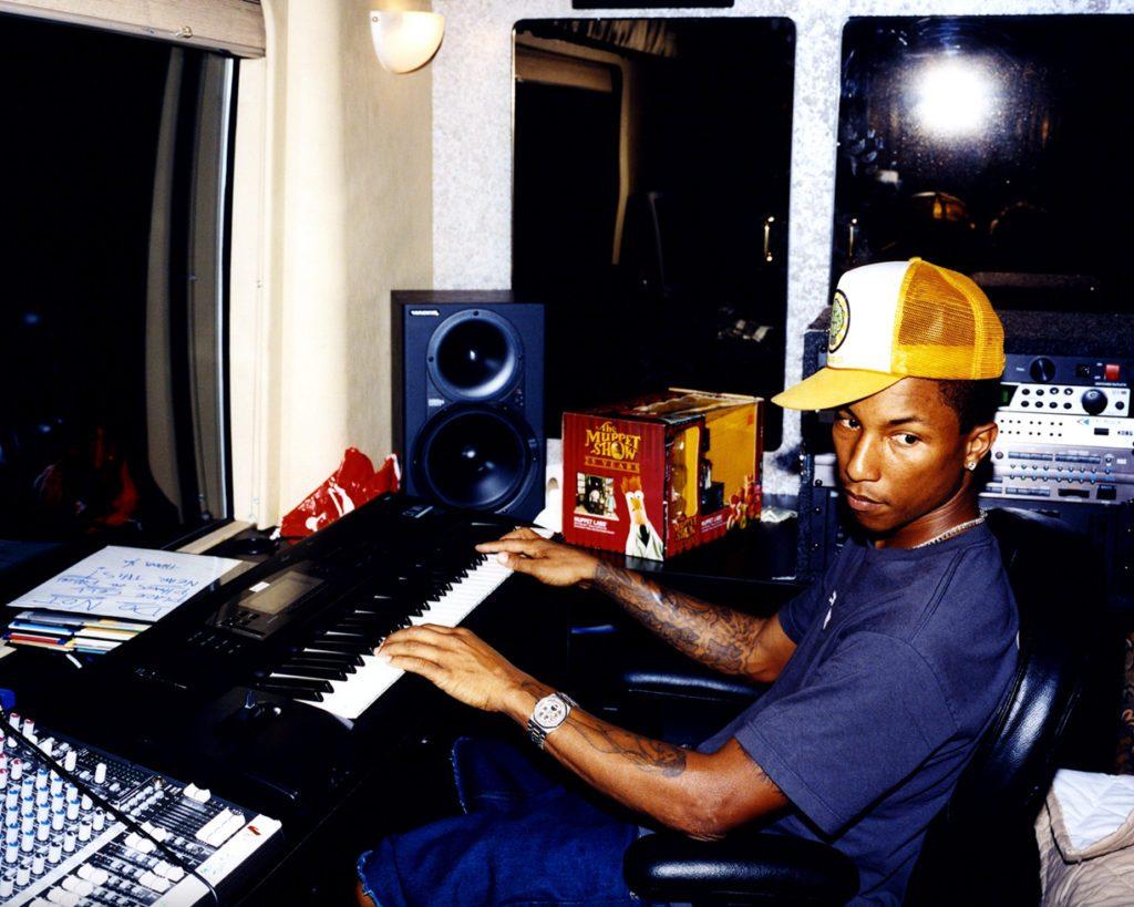 pharell in studio