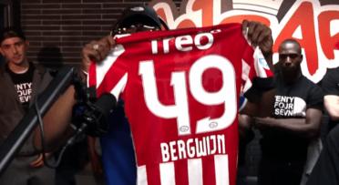 De nauwe vriendschappen tussen Nederlandse rappers en voetballers