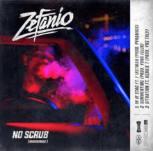 Zefanio no scrub maxisingle artwork